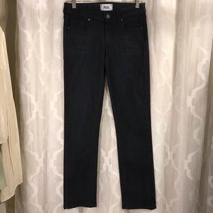 Paige Skyline Straight Jeans Stretch Denim 25